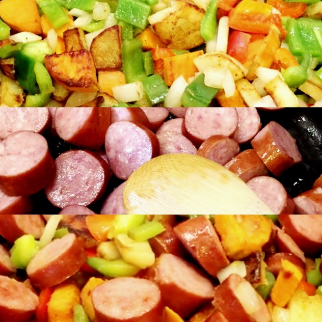 Polish Sausage & Veggies